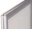 Zilver geanodiseerd aluminium en kunststof