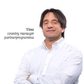 Tino Country Manager Partnerprogramma