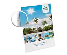 Brochures agrafés à oeillets