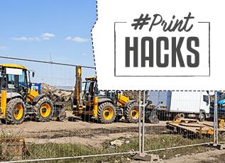 Printhacks: Van hekwerkbanner naar hegwerkbanner
