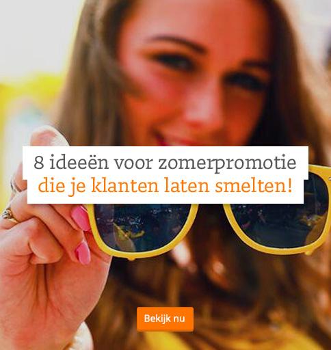 8 ideeën voor zomerpromotie die je klanten laten smelten!