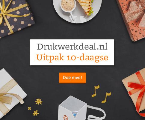 Drukwerkdeal.nl Uitpak 10-daagse