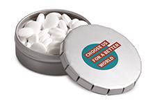 Boîtes pastilles menthe