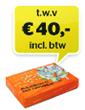 Cadeaucheque € 40,-