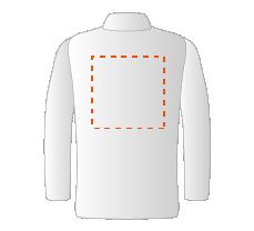 Chemise côté dos (25x25cm)