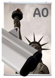 Profil porte-affiche clippant A0