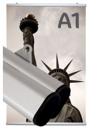 Profil porte-affiche clippant A1