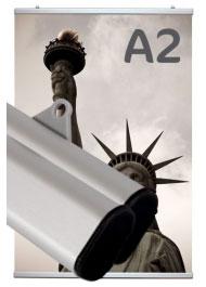 Profil porte-affiche clippant A2