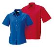 Basic blouse korte mouw