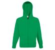 Sweatshirt léger avec capuche et fermeture éclair