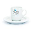 Tasse à café avec soucoupe