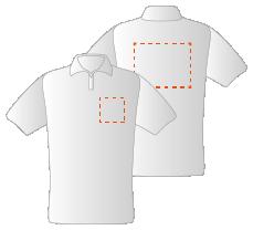 Voor en achterzijde (10x10cm)(30x35cm)