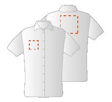 Borst rechts en Schouders (10x10 en 15x15cm)