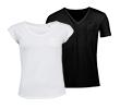 Slim fit V-hals T-Shirt