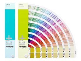 Guides Pantone des couleurs CMJN (papier couché et non couché)