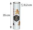 35 x 30.2 cm (9.2 cm diameter)
