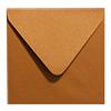 Inclusief metallic bronze enveloppen