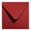 Avec enveloppes rouge métallisé