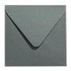 Inclusief enveloppen metallic staal