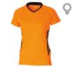 Néon orange/noir D