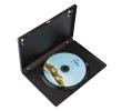 Boîtier DVD noir en polypropylène