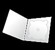 Boîtier pour CD, livret à 4 côtés