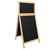 Krijt stoepbord 55 x 120 cm